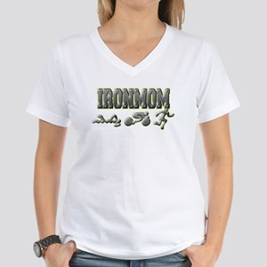 IronMom Ironman Metal Figures T-Shirt