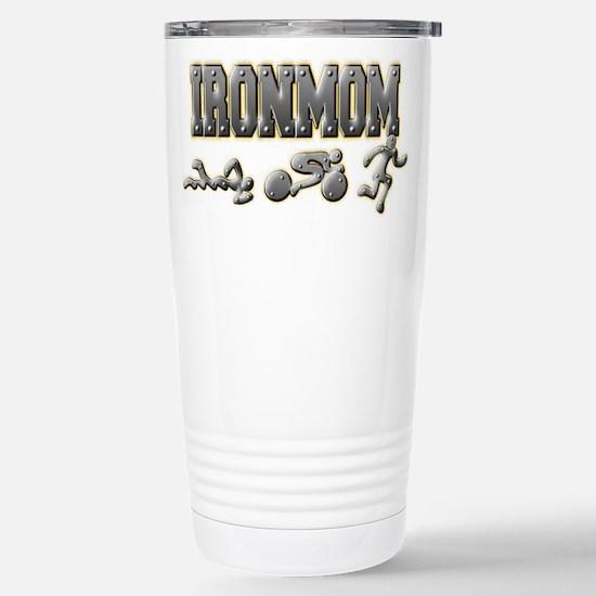 IronMom Ironman Metal Figures Travel Mug