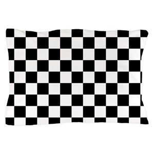 Black And White Checkered Pillow Cases Cafepress