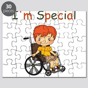 I'm Special - Wheelchair - Boy Puzzle