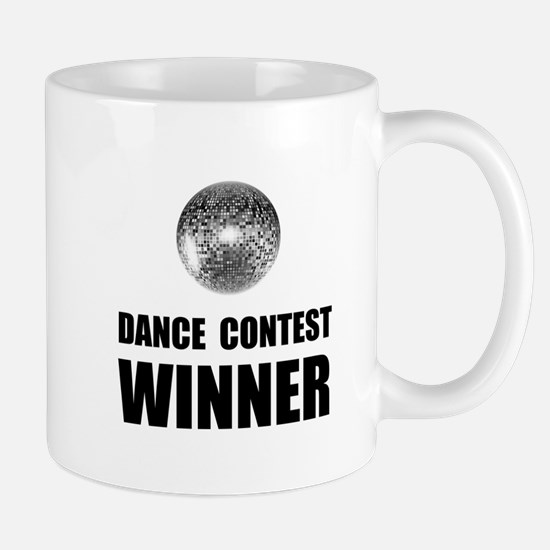 Dance Contest Winner Mugs
