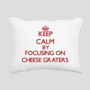 Cheese Graters Rectangular Canvas Pillow