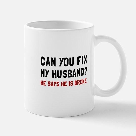 Fix Husband Broke Mugs