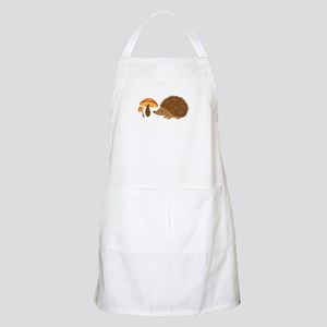 Hedgehog with Mushrooms Apron