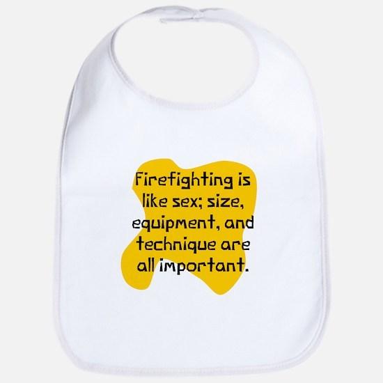 Firefighting matters Bib
