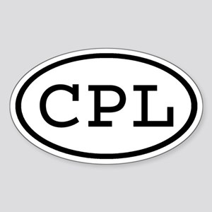 CPL Oval Oval Sticker