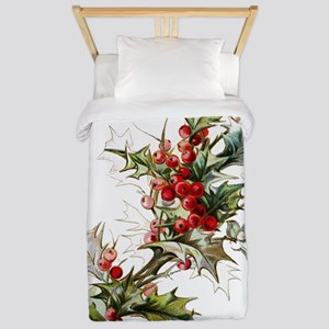 Holly and berries Twin Duvet