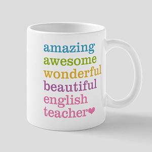 English Teacher Mugs