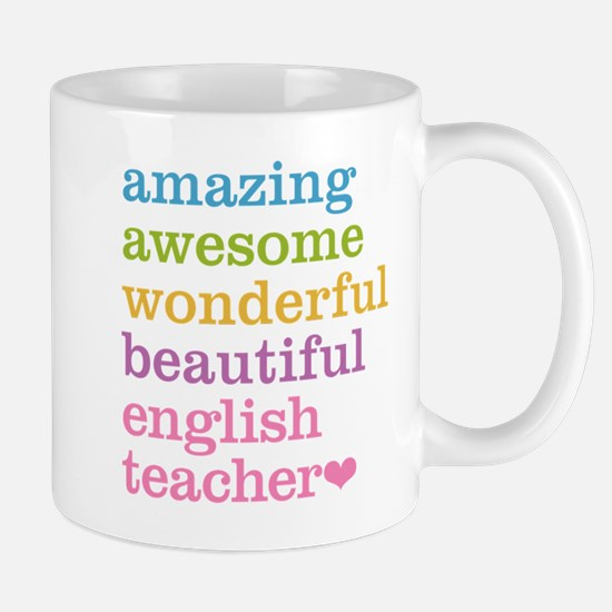 English Teacher Mugs