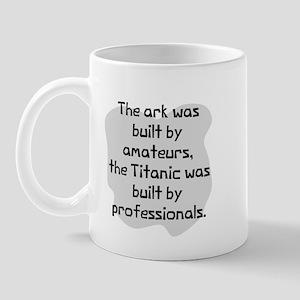 Ark built by amateurs Mug