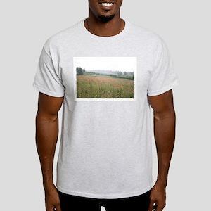 Poppies In Evening Mist Light T-Shirt
