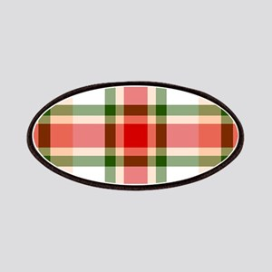 Christmas Plaid Patches