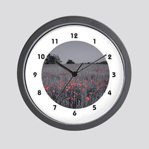 The Colour Shines Wall Clock