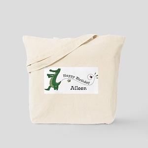 Happy Birthday Aileen (gator) Tote Bag