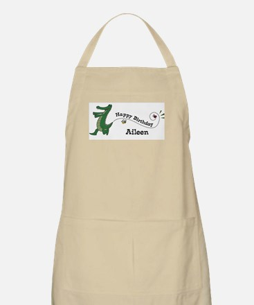 Happy Birthday Aileen (gator) BBQ Apron