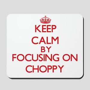 Choppy Mousepad