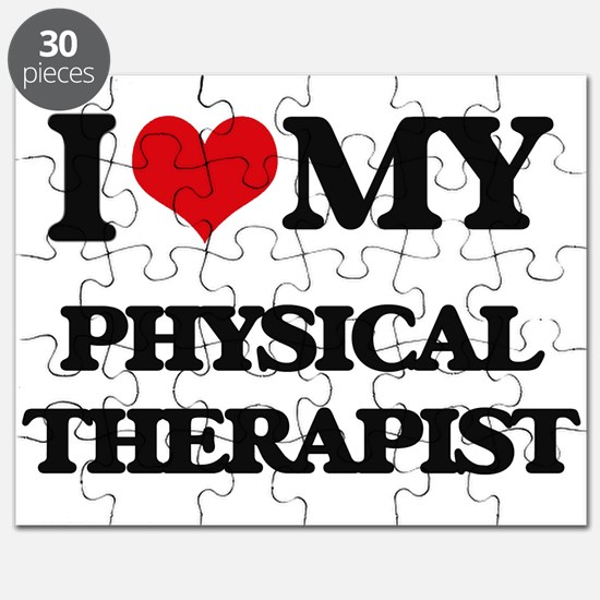 I love my Physical Therapist Puzzle