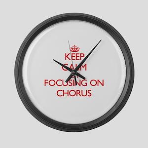 Chorus Large Wall Clock