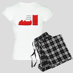 Candy Bears Women's Light Pajamas