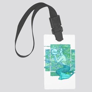 Pisces Seas Luggage Tag