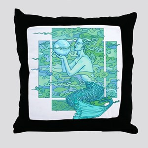 Pisces Seas Throw Pillow