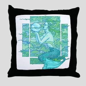 Pisces Seas Throw Pillow
