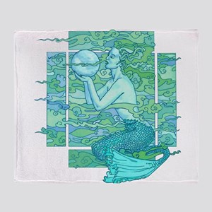 Pisces Seas Throw Blanket