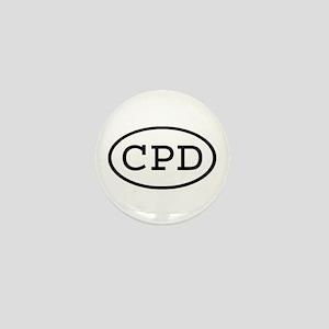 CPD Oval Mini Button