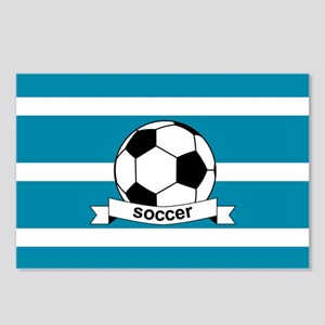 Soccer Ball and Banner Postcards (Package of 8)