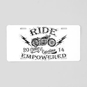 Ride Empowered Vintage Glitter & Gasoline Aluminum