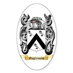 Gugliemino Sticker (Oval)
