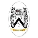 Gugliemino Sticker (Oval 50 pk)