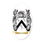Guglielmucci Oval Car Magnet