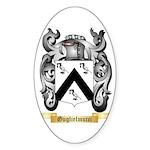 Guglielmucci Sticker (Oval)