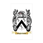 Guglielmotti Sticker (Rectangle 50 pk)