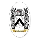 Guglielmotti Sticker (Oval 50 pk)