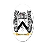 Guglielmotti 20x12 Oval Wall Decal