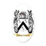 Guglielmoni Oval Car Magnet