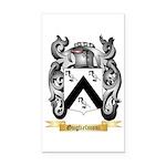 Guglielmoni Rectangle Car Magnet