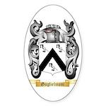 Guglielmoni Sticker (Oval)