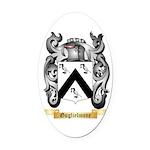 Guglielmone Oval Car Magnet