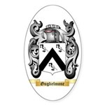 Guglielmone Sticker (Oval 50 pk)
