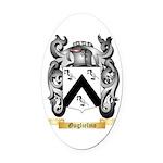 Guglielmo Oval Car Magnet