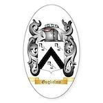 Guglielmo Sticker (Oval 50 pk)