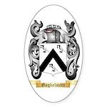 Guglielmetti Sticker (Oval 50 pk)