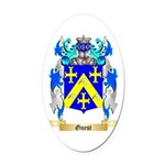 Guest Oval Car Magnet