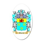 Guerry 20x12 Oval Wall Decal