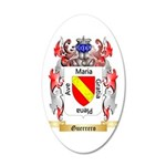 Guerrero 35x21 Oval Wall Decal