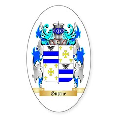 Guerne Sticker (Oval 50 pk)