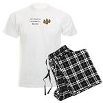Christmas Morels Men's Light Pajamas